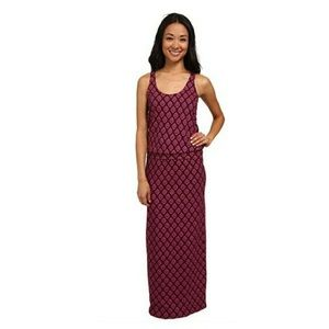 CARVE DESIGNS Purple & Pink Sleeveless Maxi Dress